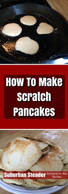 Scratch pancakes are