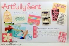 Stamping Rules!: Day 85: Artfully Sent Board