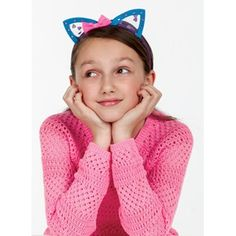 Pretty Kitty Headbands - This trendy cat themed accessory set is purr-fect for costume and everyday wearable fun. Create your own feline fashions with 5 fabric headbands, assorted fabric ears and fancy fabric accents. #creativityforkids