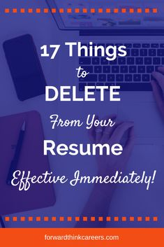 Don't let your resume get stuck in a time warp. These 17 items aren't helping your resume and could actually be hurting your job search. Resume Advice, Career Advice, Resume Ideas, Career Ideas, Job Resume, Career Goals, Career Search, Job Search Tips, Career Assessment
