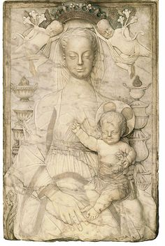 Madonna and child, Italy, Marble ca. 1480