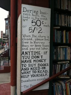 my kind of book store...I would love to own one like that someday.