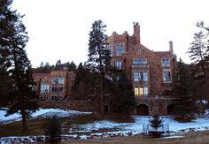 Glen Eyrie Castle: NCAR, I.M. Pei threatened