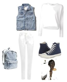 """Untitled #10"" by nicmarb on Polyvore featuring Abercrombie & Fitch, T By Alexander Wang, WearAll, Converse and H&M"