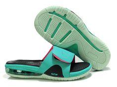 Nike Air LeBron Slide South Beach Retro Pink Flash Nike Air Shoes 8a4a08de7e4