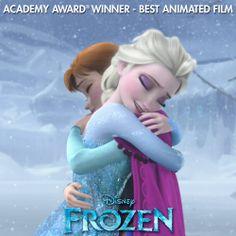 Congrats to everyone at Walt Disney Animation Studios for the big #Frozen win! #Oscars