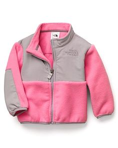"The North Face® Infant Girls' ""Denali"" Jacket - Sizes 3-24 Months  PRICE: $65.00"