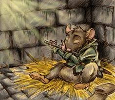 So much love, the scamps are the best part of Redwall.