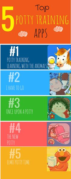 Top 5 Potty Training AppsThose of you who aren't currently potty training a…