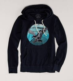 AE Signature Hoodie Tee @American Eagle Outfitters Just as I'm back in England you do a supercool hoodie tee!