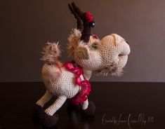 Pattern Library, Ravelry, Goats, Christmas Ornaments, Patterns, Craft, Holiday Decor, Crochet, Diy