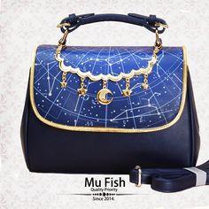 #LolitaUpdate: [-★☪-Mu-fish Constellation Lolita Bag-★☪-] >>> http://www.my-lolita-dress.com/mu-fish-constellation-prints-lolita-handbag-shoulder-bag-mf-58