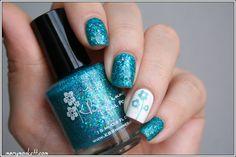 KBShimmer She Twerks Out - Mary Monkett #nail #nails #nailart