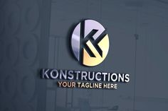 letter K | Logo Template by REDVY on @creativemarket