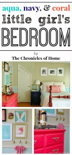 Bedroom Ideas A classic yet fun styling examples for that fantastically comfy bedroom decorating ideas on a budget accent walls Bedroom Decor idea number generated on 20181219 Kids Room, Dream Bedroom, Playroom Decor, Girls Bedroom Coral, Bedroom Decor, Kids Bedroom, Home, Coastal Bedrooms, Room