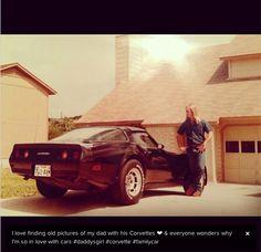 Vintage Corvette Pic