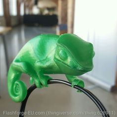 3d Printer Designs, Chameleon, The Dreamers, 3 D, 3d Printing, Dinosaur Stuffed Animal, Printed, Instagram Posts, Ideas