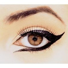 Ooh I love a cat eye, never thought of doing this underneath though!