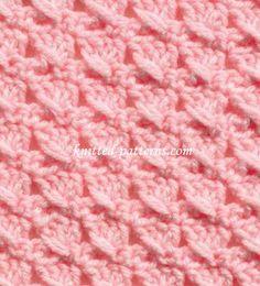 Tied Doubles - Crochet Stitch