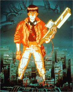 """""""Akira"""" (1988)    A pinnacle of smart cyberpunk anime, this 1988 tale of paranoia and action in Neo Tokyo is one of the movies' great dystopian visions."""