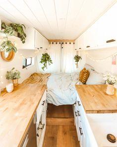 Caravan Home, Bus Life, Never Settle, Trailer Remodel, Bus Conversion, Remodeled Campers, Camping Life, Camper Trailers, Campervan