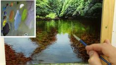 How to paint a Shallow River - Oil painting demo by artist Michael James Smith Acrylic Painting Lessons, Acrylic Painting Techniques, Painting Videos, Art Techniques, Michael James Smith, Paint Maker, Learn To Paint, Art Lessons, Studio