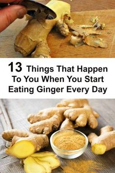 Ginger may be one of the healthiest foods you will ever get the privilege of having. Originally it comes from China but found its way to spread all over the world in a really quick period of time.