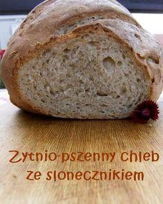 Żytnio-pszenny chleb ze słonecznikiem