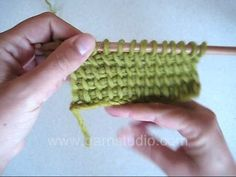 DROPS Crochet Tutorial: How to do Tunisian crochet, Afghan crochet or Tricot Crochet