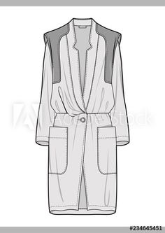 OUTER Fashion technical drawings flat Sketches vector template - Buy this stock vector and explore similar vectors at Adobe Stock Flat Drawings, Flat Sketches, Dress Sketches, Technical Drawings, Fashion Illustration Portfolio, Fashion Portfolio, Fashion Sketchbook, Fashion Sketches, Fashion Drawing Dresses