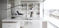 Magnificent White Executive Office Furniture Pretty Inspiration Ideas White Office Furniture Incredible in Home Interior Design Reference White Office Furniture, White Desk Office, Executive Office Furniture, Office Furniture Design, Modern Home Furniture, Types Of Furniture, Home Office Design, Chair Design, Home Interior Design