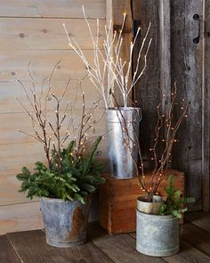love these lighted branches - perfect for the holidays http://rstyle.me/n/scufdr9te