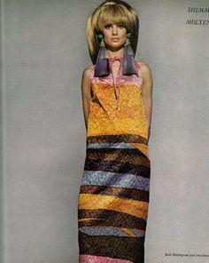Jean Shrimpton for Vogue, 1966.