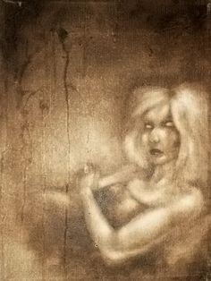 Blind II  Oil on canvas  © Patricia Benitez