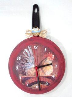 Relógio galinha no ninho