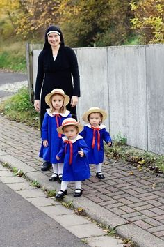 Miss Clavel and Madeline(s), Madeline | Community Post: 17 Literary Halloween Costumes