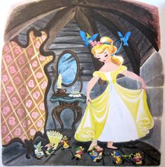 Art | Cinderella, Mary Blair