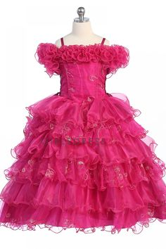 Browse large selection of flower girl dresses at Girls Dress Line. Can get affordable flower girl dresses considering colors, styles, fabrics, season, and budgets. Girls Pageant Dresses, Girls Formal Dresses, Flower Girl Dresses, Pink Princess, Birthday Dresses, Ball Gowns, Fashion Dresses, Turquoise, Pretty