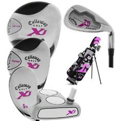 Callaway Golf XJ Jr. Girls Complete Set (ages 5-8)