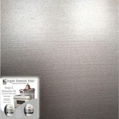 Giani Liquid Stainless Steel 12 oz. Stainless Steel Appliance Paint Kit-FG-RDKIT / 19 SQ FT at The Home Depot