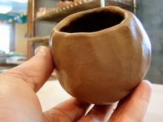 Step 3: How to Make a Pinch Pot « Jenny Gulch Pottery & Art- great fun for parents' night