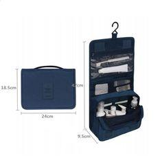 Set da viaggio AIBAG Custodia portatile da viaggio impermeabile da uomo di  alta qualità. Custodia pieghevole per borse da viaggio. Cosmetic BagTravel  ... 506e3ebe232d4