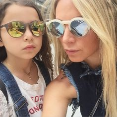 """JENNIFER FISHER JEWELRY on Instagram: """"Going to miss this one ❤️#babygirl #minime #camp #summer #sunnies #JenniferFisher #JFisherJewelry ☝️tap for credits"""""""