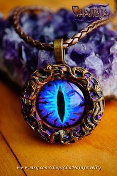 Blue Dragon Eye Pend...