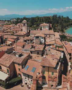 Italian rooftops in Lake Garda