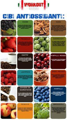 I principali cibi antiossidanti che aiutano il nostro organismo #FiberPasta #fitness #alimentazione #mangiaresano #nutrizione #alimentazionesana #dietasana #benessere #salute #dimagrimento #dieta #sport #diabete #colesterolo