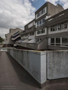 Binsey Walkways - Thamesmead Council Estate, Council House, New Topographics, Sense Of Place, Architectural Photography, Slums, Walkways, Brutalist, Bungalow