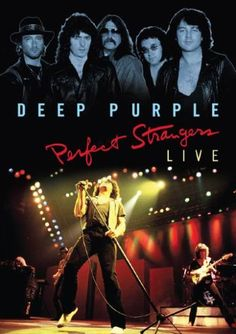 Eagle Rock will release Perfect Strangers Live next month, a DVD of Deep Purple's 1984 concert in Melbourne, Rock And Roll, 20th Century Music, Rainbow Live, Smoke On The Water, New Music Releases, Perfect Strangers, Rock Legends, Music Photo, Deep Purple