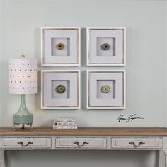 Shadow Box Style Frames Hold Replicated Sea Urchins Accented By Off-white Linen Mats, All Under Glass. Frames Feature A Glossy White Finish With A Gold Leaf Inner Lip. With The Advanced Product Engine