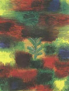 Paul Klee, Little Tree Amid Shrubbery, 1919